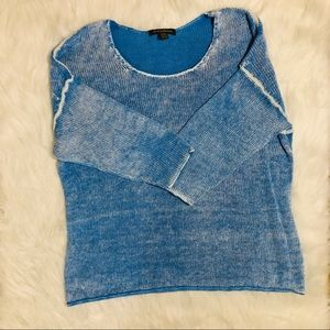 Tommy Bahama distressed scoop neck sweater